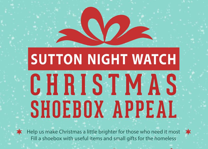 Christmas Shoebox Appeal.Christmas Shoebox Appeal Sutton Night Watch